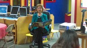 Students were able to hear Lupe Ruiz-Flores read her own story!