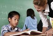 Special education teachers, middle school