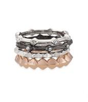 Katelyn Mixed Band Rings - size 6