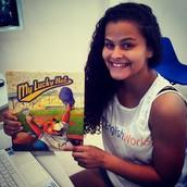 Julie Santos Vidal_ voluntária em Triagem