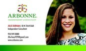 Julie Durham, Arbonne Independent Consultant, District Manager
