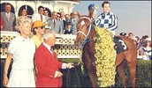 Secretariat In Winner Circle