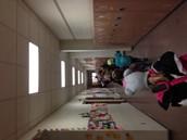 Walked them down the hallway
