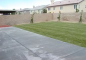 Large Back yard with patio!