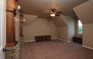 Theater Room or Game Room, Prewired for Surround Sound, Cable/Satellite and electrical with Built-Ins