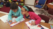 5th graders Annotating the Text!