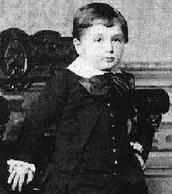 Albert as a small boy