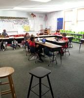 Third graders engaged