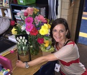 Mrs. Wiley loved her flowers!