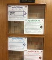 All registered & my Marathon Kids milage logs up! Time to get moving!