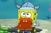Leif Erikson day in spongebob