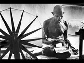 Gandhi in the Quit India movement