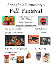 Fall Festival 10/23