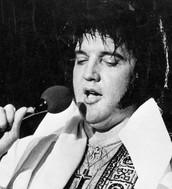 This is older Elvis Presley