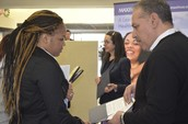 Students attend on-side interviews at Job Fair