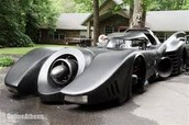 Batmobile able to work.Car was in some famous batman movies.