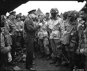 101st with General Eisenhower.