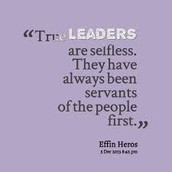 True Leaders...