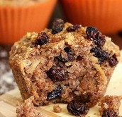 Healthy Apple Harvest Muffin