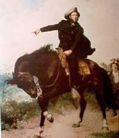 The military leader, Sam Houston