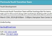 Peninsula Youth Transition Team Fair
