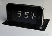 Scented clock