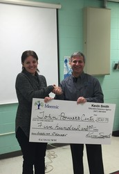 Congratulations to Angel for winning her $500 Meemic Foundation Grant
