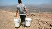 Escasez de agua en la periferia