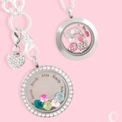 Show MOM you love her with an In{script}ion and Swarovski birthstones!