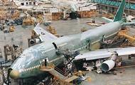 Building of an aircraft