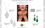 TRUNK SHOW TREASURES-SPEND $50 AND SAVE 50%