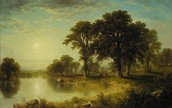 Asher B Durand's painting