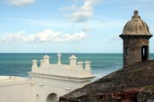 The gorgeous Caribbean and Fort Morro