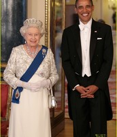 President Obama and Queen Elizabeth
