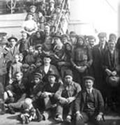 Inmigrantes Italianos circa. 1909