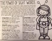 Sight Word Practice Ideas