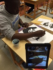 Using iPads in Art