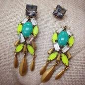 Jardin earrings