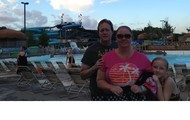 My Family at Schlitterbahn Water Park