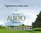 Marvel Realtors Marvel Albero Earlier To Launchbest Sea Green House Inside Pune