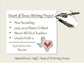 The Heart of Texas Writing Project  (2014 - 2015 )