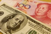 American and Chinese Currency