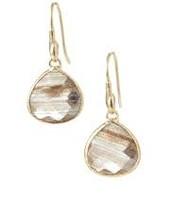Serenity Small Stone Drops - Ritulated Glass