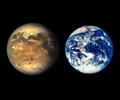 Kepler-186f compared to Earth