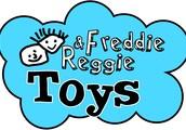 Freddie & Reggie Pop Up Toy Shop