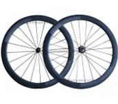 50mm Tubular carbon bike wheels