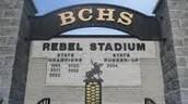 BCHS stadium sign