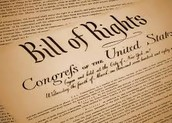 What are the Bill Of Rights: