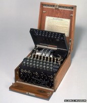 The Enigma machine, what did it do?