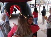 LIS students ran through the Lobo Victory Tunnel where they were encouraged by their teachers to Beat the STAAR!